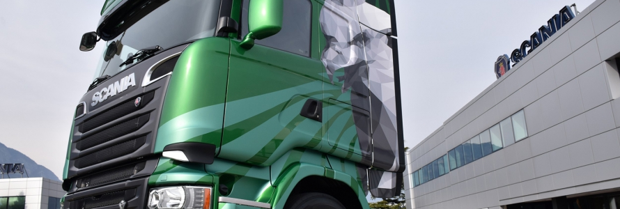 scania the emerald serie limitata